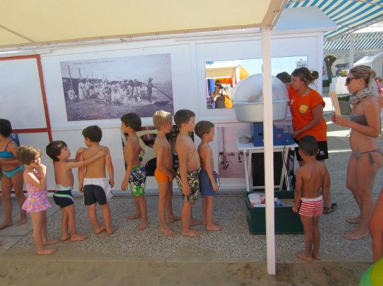 spiaggia riccione mini club